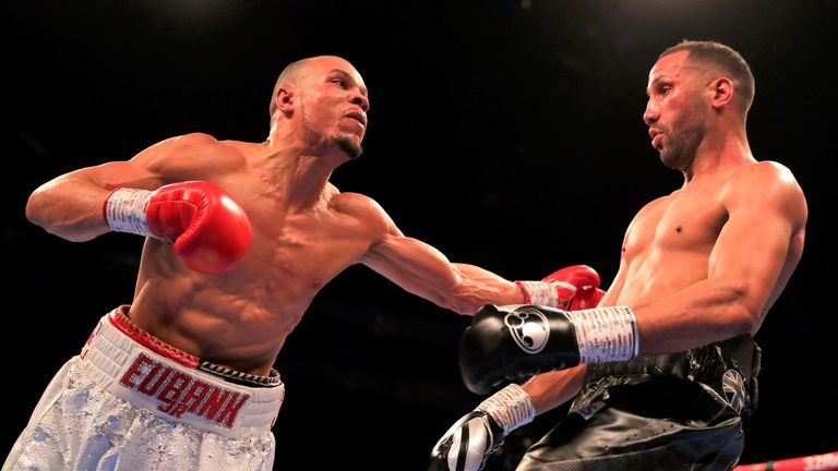Eubank Jr has not fought since a unanimous decision win over DeGale in February