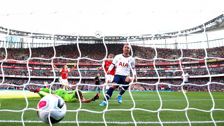 Mauricio Pochettino's decision to start Christian Eriksen was vindicated when he opened the scoring inside 10 minutes at the Emirates