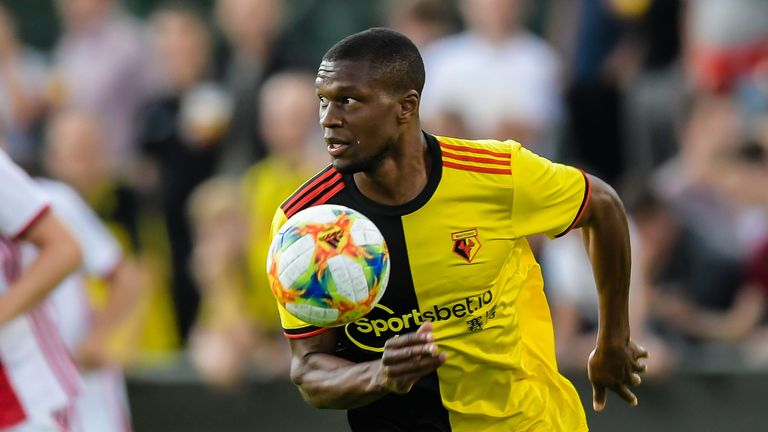 Christian Kabasele was also subjected to racist abuse online last season