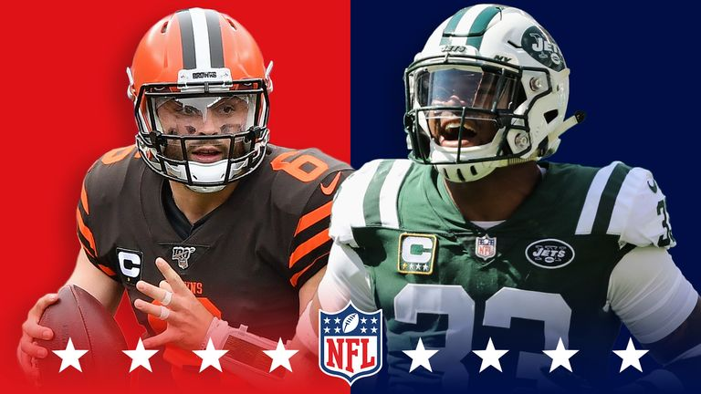 Cleveland Browns look to rebound against injury-plagued New York Jets on Monday night