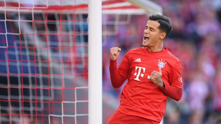 Philippe Coutinho scored his first Bundesliga goal against Cologne