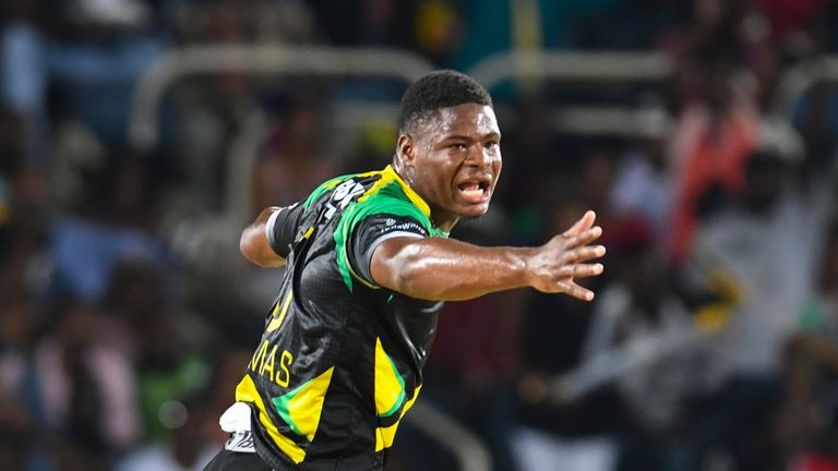 Oshane Thomas picked up 18 wickets for Jamaica Tallawahs in the 2018 tournament