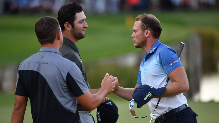 Willett and Jon Rahm will play alongside each other once again in the final group on Sunday