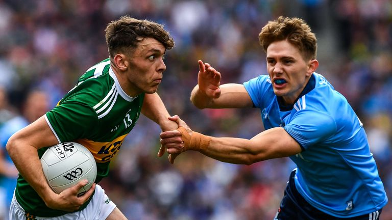 Fitzsimons fared well on Clifford in the drawn game, following Jonny Cooper's red card