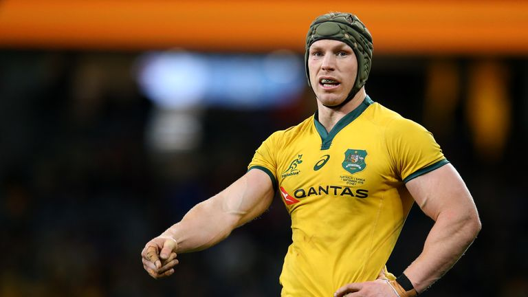 David Pocock returned from injury for Australia in their final pre-Rugby World Cup Test with Samoa on Saturday