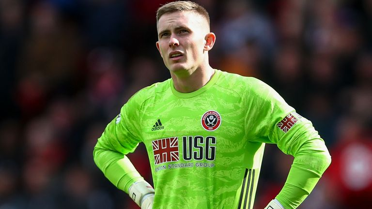 Goalkeeper Dean Henderson has kept four clean sheets at the beginning of this season