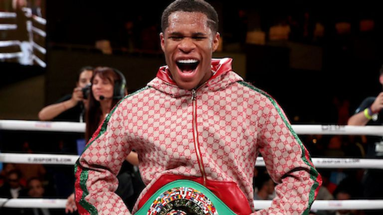 Devin Haney also appears at the Staples Center in Los Angeles