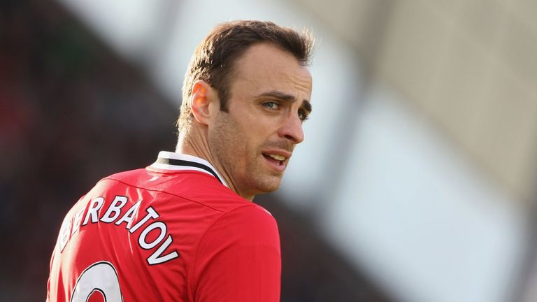 Dimitar Berbatov won the Premier League twice with Manchester United during his four season spell
