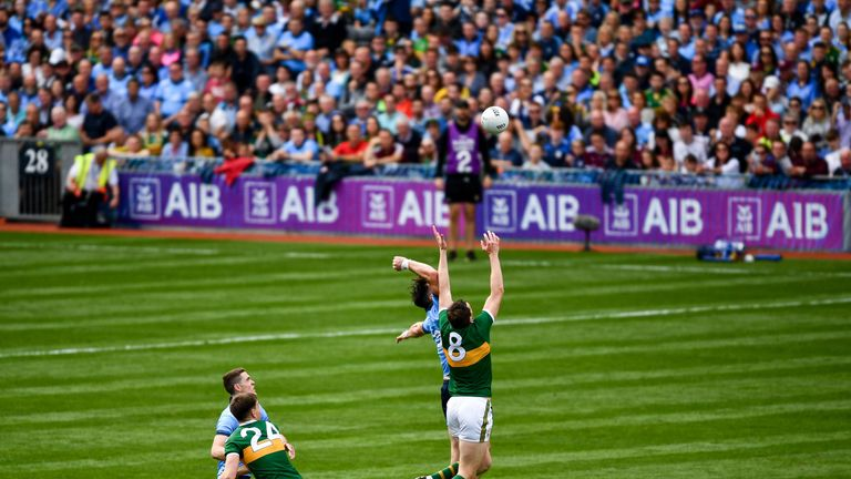 Kerry edged the midfield battle