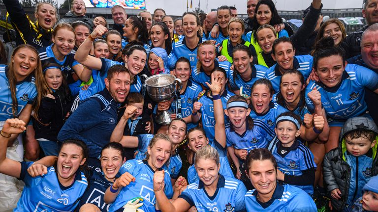 The Sky Blues sealed a third title in succession