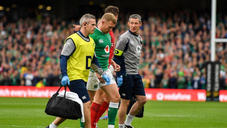 An injury to Keith Earls was perhaps the only concern for Joe Schmidt on the day