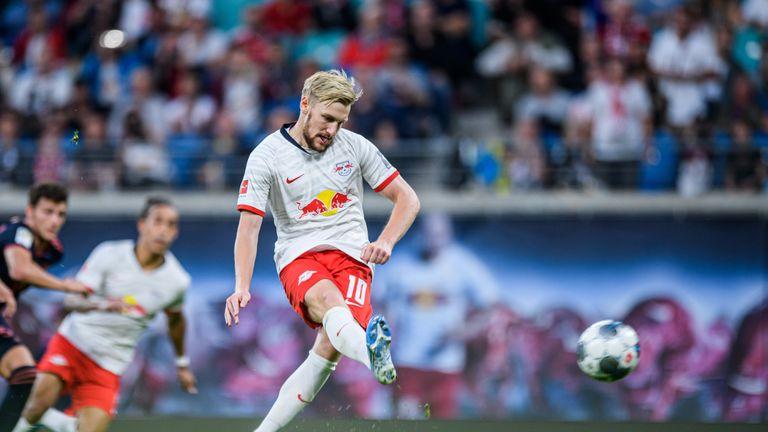 Emil Forsberg equalised from the spot