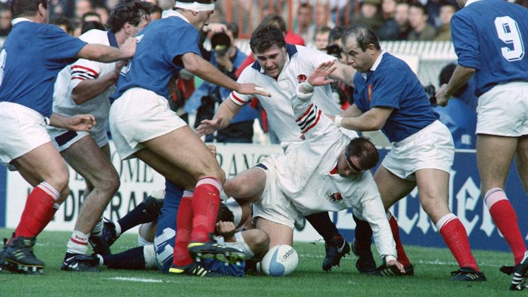 England vs France in the quarter-finals of the 1991 World Cup resembled brawls and fights more than rugby at times