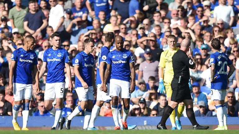 Everton have lost three of their last four Premier League games