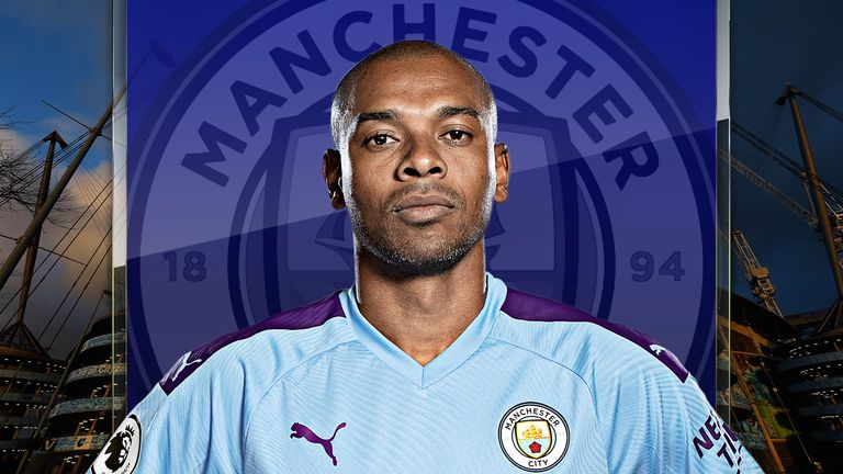Fernandinho has been drafted into Manchester City's defence due to injuries