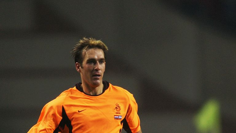 Ricksen played 12 times for the Netherlands