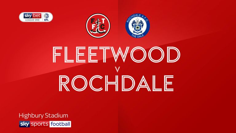 Fleetwood 2-1 Rochdale: Ched Evan s hits late winner for Fishermen