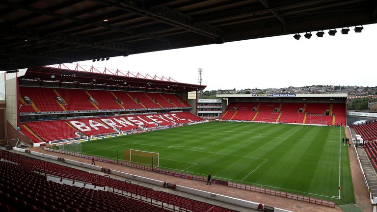 A backroom staff member at Barnsley has tested positive for coronavirus but the club say the person is 'safe and upbeat'