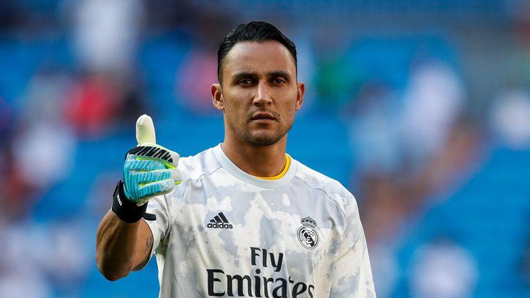 Real Madrid announce departure of Keylor Navas