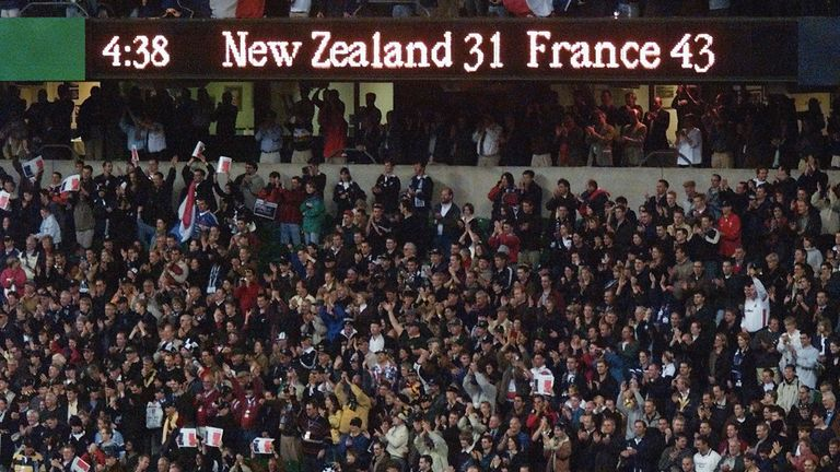 This scoreline will never be forgotten by French rugby fans