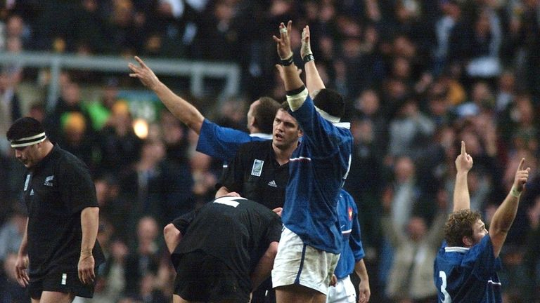 France were given little to no chance at all of winning their 1999 World Cup semi-final with New Zealand