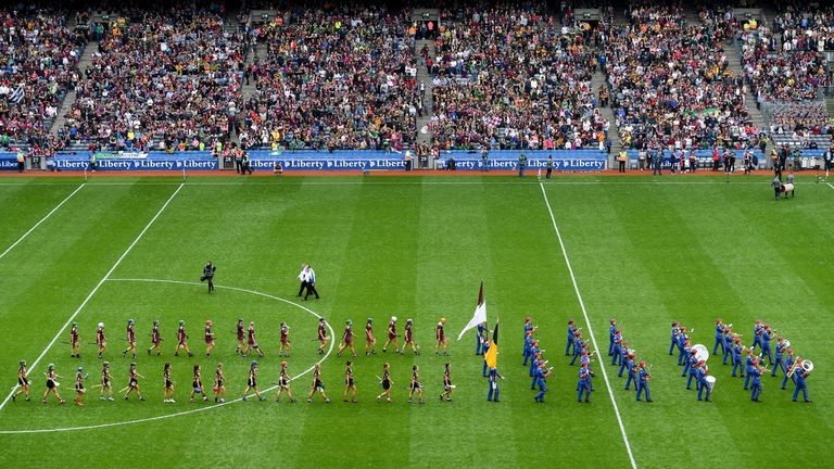The final was played in front of a record crowd at Croke Park