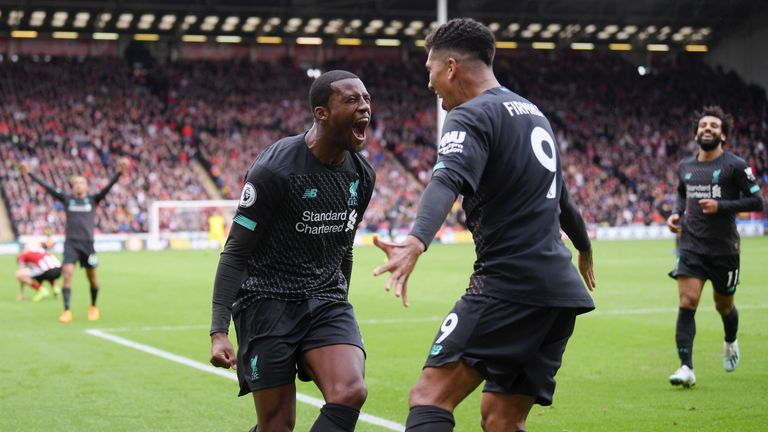 Liverpool have won their opening seven Premier League matches