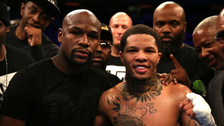 Davis is promoted by Mayweather