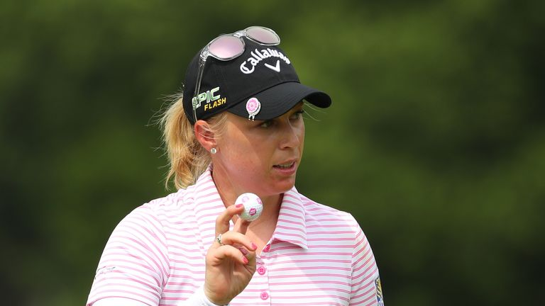 Morgan Pressel is the oldest player in the American team