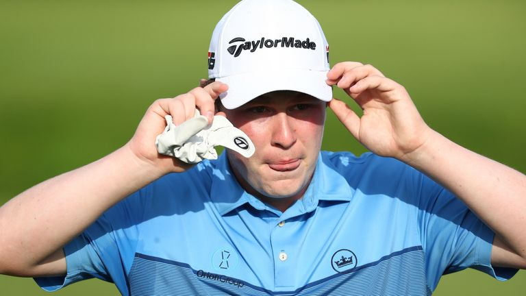 MacIntyre shot a two-over par 74 on Saturday to drop back to nine under