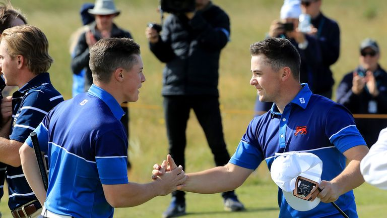 USA  rallies to beat Great Britain & Ireland in Walker Cup