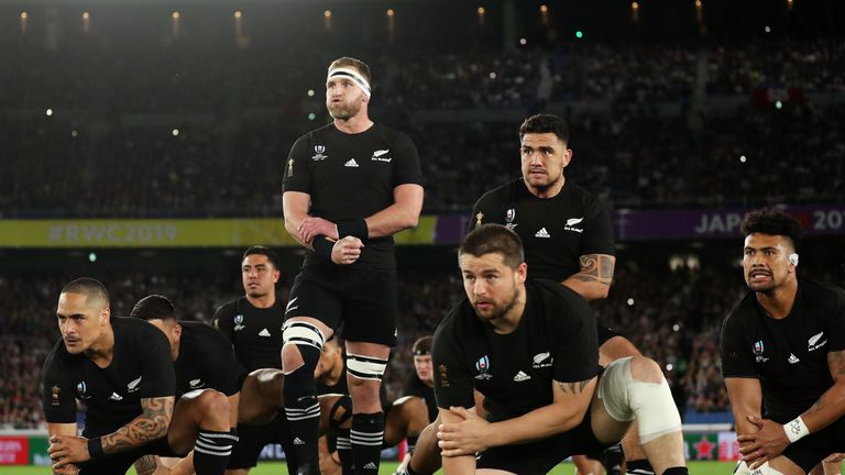 New Zealand swept Ireland aside in the quarter-final