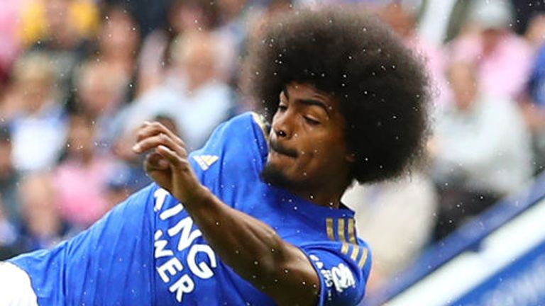 Hamza Choudhury has featured in every league game for Leicester this term
