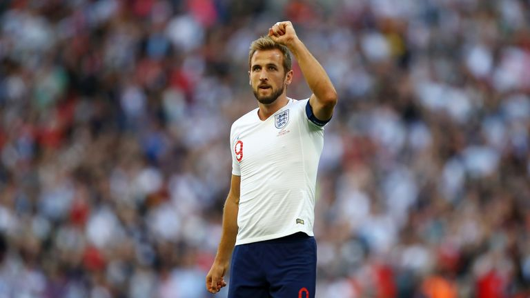 Harry Kane was voted tenth in the Best FIFA Player of the Year award