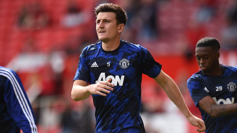 Harry Maguire has impressed Ole Gunnar Solskjaer on and off the pitch