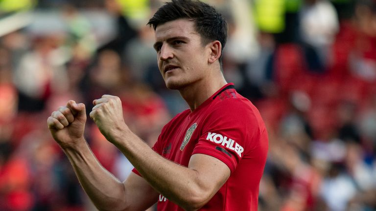 Solskjaer said Harry Maguire is the missing part of the jigsaw for United