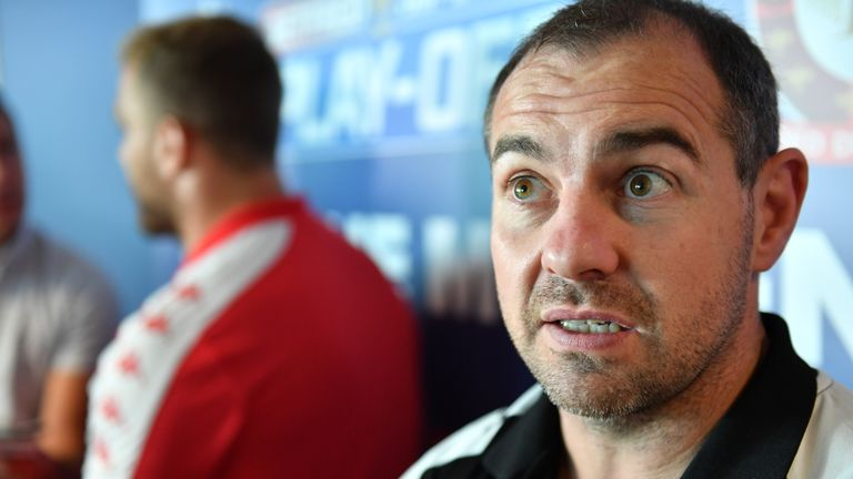 Super League play-offs: Salford Red Devils confident against Castleford Tigers, says Ian Watson