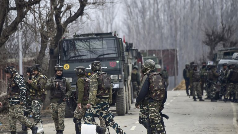 India has deployed thousands of extra troops to Kashmir in the last few months