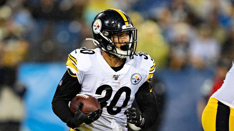 James Conner will shoulder a heavy load for Pittsburgh in 2019