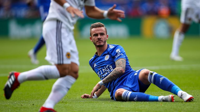 Maddison explains how his role can often turn from a No 10 to a No 8