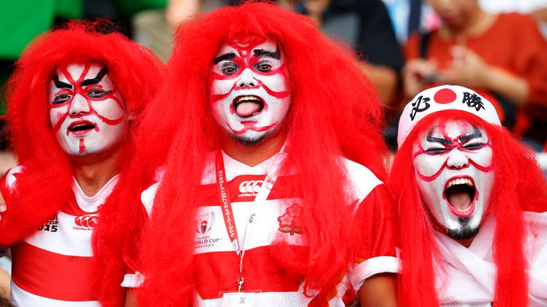 Rugby expert Rich Freeman from Kyodo News told Sky Sports News that Japan's win over Ireland in the World Cup has 'got the whole country going'