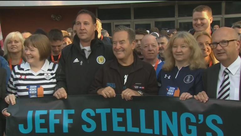Jeff Stelling embarks on 100-mile walk for Prostate Cancer UK
