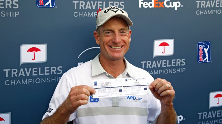 Furyk is the only player to ever shoot two sub-60 rounds on the PGA Tour