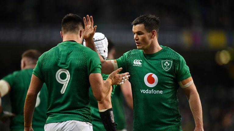 The form of this duo of half-backs, as always, will be vital for Ireland