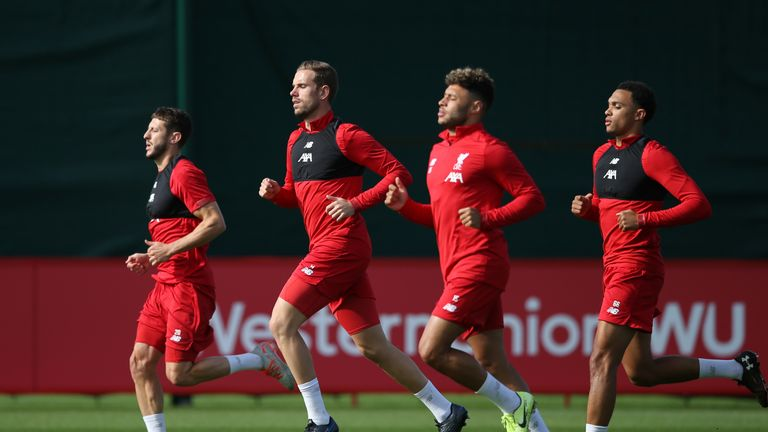 Henderson says the level of intensity in training keeps Liverpool focused