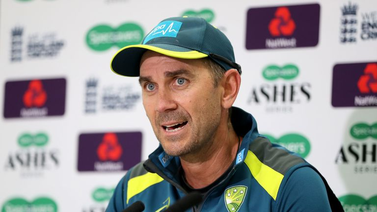 Justin Langer says the coronavirus pandemic has given his 'exhausted' players a chance to rest