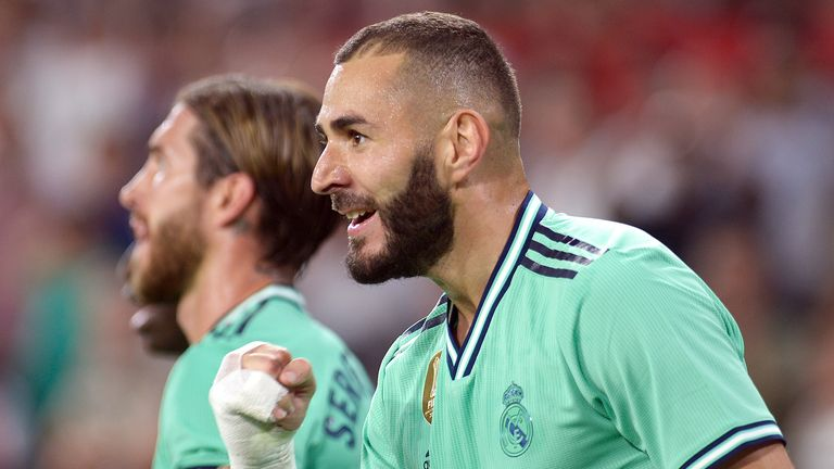 Karim Benzema is excelling for Real Madrid, but will not be returning to the France national team