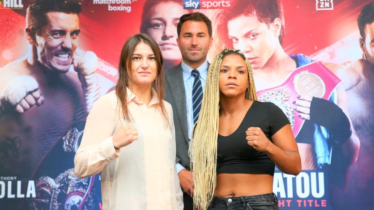 Taylor has moved up in weight to target another world title