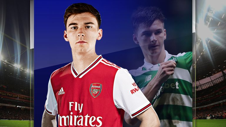 Kieran Tierney is closing in on his Arsenal debut following his move from Celtic