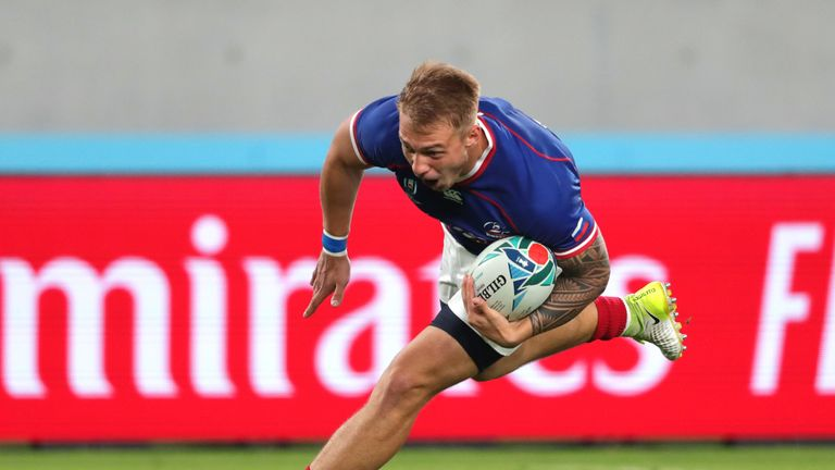 Kirill Golosnitskiy scored the first try of the 2019 World Cup